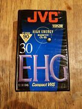 VHS Cassette JVC TC-30 EHG Tape Compact Camcorders