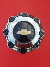 "1NEW Chevy Silverado 2500 3500 ,8 Lugs Hub Center Cap 8-1/2 "" Chrome replacement"