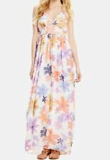 NWT Women's Jessica Simpson Roslyn Halter Maxi Dress-Retail $89