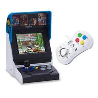 NEOGEO Mini Console Bundle - Includes Console with 40 Games + White Controller
