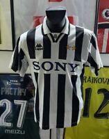 Maillot jersey maglia camiseta trikot shirt juventus 1995 1996 95/96 Italie sony