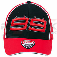 Ducati Corse Official 99 Lorenzo Moto GP Racer Peak Cap Snap Back One Size