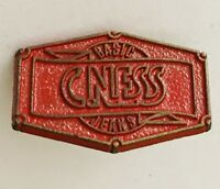 CNESS Basic Jeans Brand Advertising Pin Badge Vintage (C23)