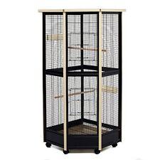 Coin Volière cage idéal pour les oiseaux Rats Chinchilla Tall tous métal maison jardin