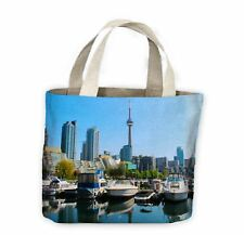 Toronto Harbour Canada Tote Shopping Bag For Life