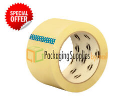 "36 Rolls Carton Sealing Clear Packing Shipping Box Tape 2"" x 110 Yards"