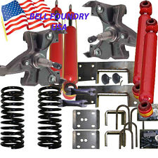 "1989-1998 Chevrolet GMC C1500 5""/7"" Drop Lowering Kit Xtra Kab & SUV 4 Shocks"