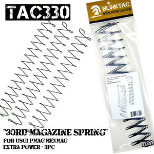 Magazine Spring 30rd For USGI PMAG HEXMAG Extra Power Replacement Springs 3Pc