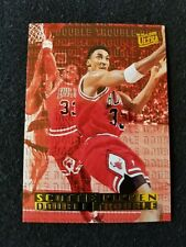 SCOTTIE PIPPEN 1995-96 Ultra Double Trouble #8 of 10 Chicago Bulls