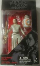 "NEW Hasbro Star Wars The Black Series 6"" Rey Jakku and BB-8 #02 - Sealed!"