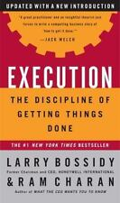 Execution: The Discipline of Getting Things Done-ExLibrary