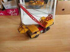 Joustra Berliet Crane Truck in Yellow