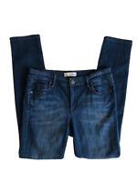 Ann Taylor LOFT Jeans Modern Skinny 27/4 Women's Mid Rise Dark Wash