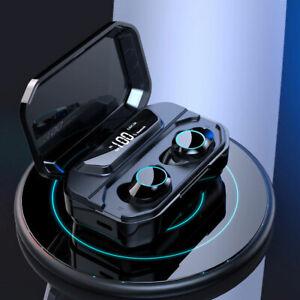 Bluetooth 5.0 Wireless Sport Earphones Stereo Earbuds 3300 mAh Headphones W/ Mic