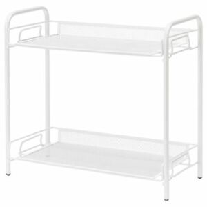 IKEA TEVALEN Storage Unit, White, 36x17x33 cm, With Removable Shelves FREE POST