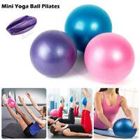 Balon Pelota de Pilates Fitball Fitness Ejercicio Gimnasia Yoga Azul Rojo 65cm