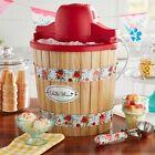 The Pioneer Woman 4 Quart Ice Cream Maker, Sweet Rose photo