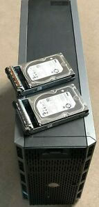 Dell T620 Server 2 X 8 Core 2.20ghz CPU 72gb Ram 2 X 1tb Hard Disk Drives