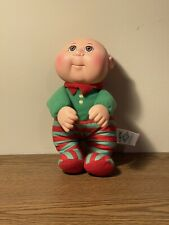 """Cabbage Patch kid Cutie Christmas Holiday Elf CPK Red Green outfit 9"""""""