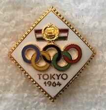 Tokyo 1964 Hungary Olympic NOC Athlete Pin Nice!