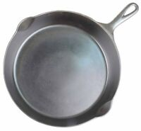 """Early (1905-1910) Arc """"SIDNEY"""" No 9 Cast Iron Skillet Restored Condition"""