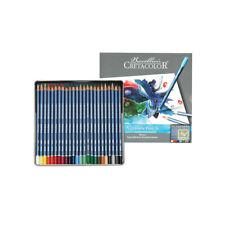 Cretacolor Marino 24 Watercolour Pencil set Transparent Intense Brilliant colour