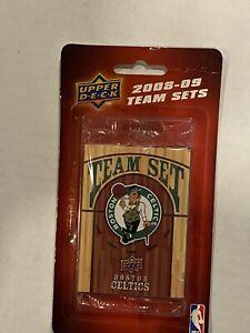 2008-09 Upper Deck Boston Celtics Team Set Factory Sealed