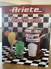 Sweet Granita Maker Ariete NUOVO