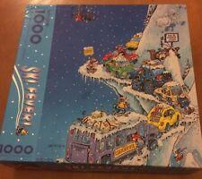 Ski Fever Gary Patterson Cartoon Art Sealed Springbok 1000 Piece Puzzle