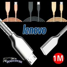 Metal Micro USB Data Sync Cargador Cable de carga rápida para Tablet Lenovo Tab
