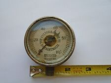 Vintage The Pelton & Crane Co. Regulated Pressure Gauge 0-100 Brass SteamPunk