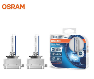 D1S OSRAM Xenarc 5500K Cool Blue Intense CBI HID Xenon Headlight Bulbs 66140CBI