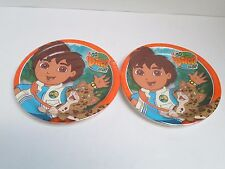 GO DIEGO GO  DESSERT PLATES - LOT OF 2 PACKAGES --  PARTY SUPPLIES