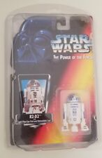 Star Wars - Power of the Force - R2-D2 with Light-pipe eye port and Retractable