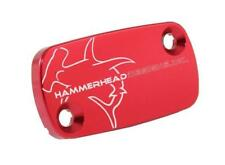 Hammerhead Designs - 35-0101-00-10 - Front Master Cylinder Cover, Red`