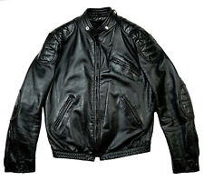 Brooks Biker Moto Harley Rockabilly Giacca di pelle incl. MANGIME 52 L