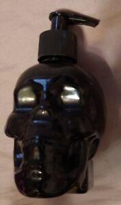 Black Skull Hand Soap Dispenser Refillable Halloween