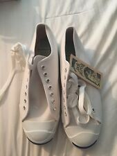 Vintage Converse Jack Purcell Canvas Shoes Posture Foundation Made In USA 9.5