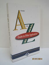 The Student's A-Z Guide To Bible Application by Tyndale House Publishers