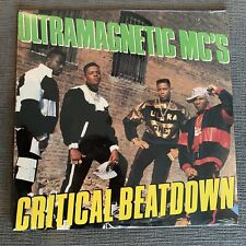 New Sealed HIP-HOP ULTRAMAGNETIC MC'S CRITICAL BEATDOWN LP VINYL 12""