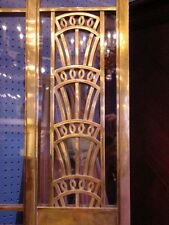 1928 Art Deco American Brass Co. Doors Monumental Architectural Masterpiece