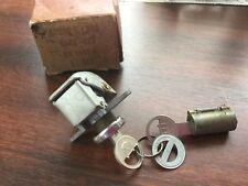 Ford Mercury GLOVE BOX / TRUNK LOCK CYLINDER SET NOS with keys, box BA-3689-B