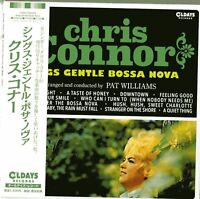 CHRIS CONNOR-SINGS GENTLE BOSSA NOVA-JAPAN MINI LP CD C94