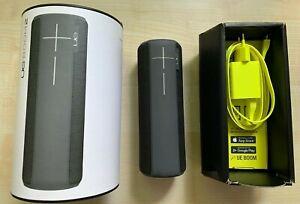 Ultimate Ears UE Boom 2 Bluetooth-Lautsprecher - Logitech - Grau Schwarz
