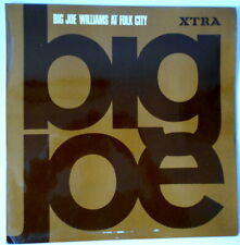 BIG JOE WILLIAMS. AT FOLK CITY.  1968. VINYL LP RECORD. BLUES. ACOUSTIC
