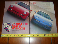 1993 PORSCHE 928 GTS vs. 1993 PORSCHE 968 - ORIGINAL ARTICLE