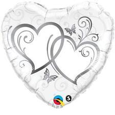 Engagement Anniversary Celebration Foil Helium Balloon Party Decoration 25th Heart Qualatex