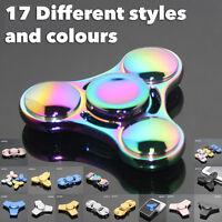 Fidget Finger Spiner Hand Focus Ultimate Spin Steel EDBC Bearing Stress Toys UK