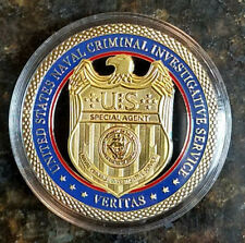 NCIS TV Series Special Agent Badge coin 2 sided coin