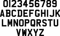 7 Stick On NUMBER PLATE DIGITS ANY COMBINATION (Letters & Numbers). FREE POST.